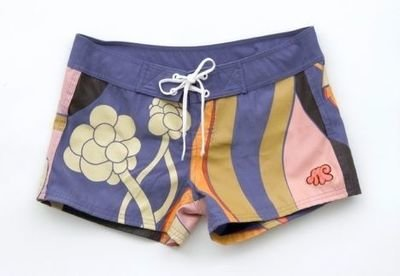Custom Artist Edition  Embrodiered Daisy Shorts  by Amanda  Church