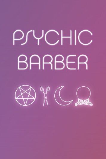 Finishing School Psychic Barber Poster, 2014​