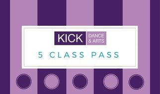 Adult Classes 5 class pass 00011