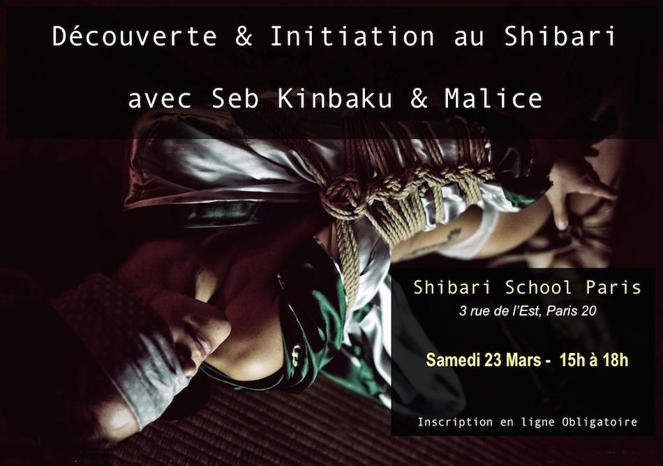 Découverte Initiation au Shibari / 23 mars 2019
