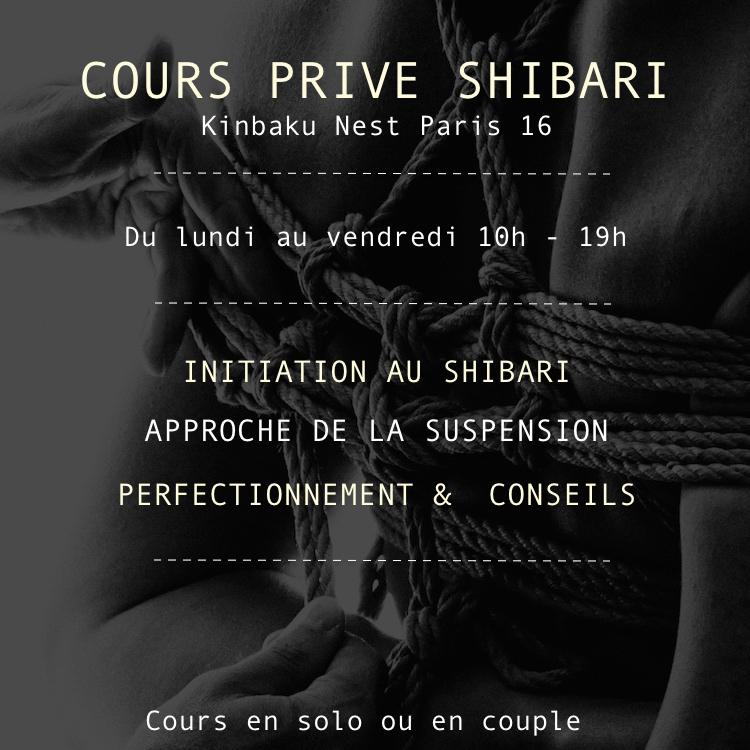 Cours Privé Shibari 2H 00022