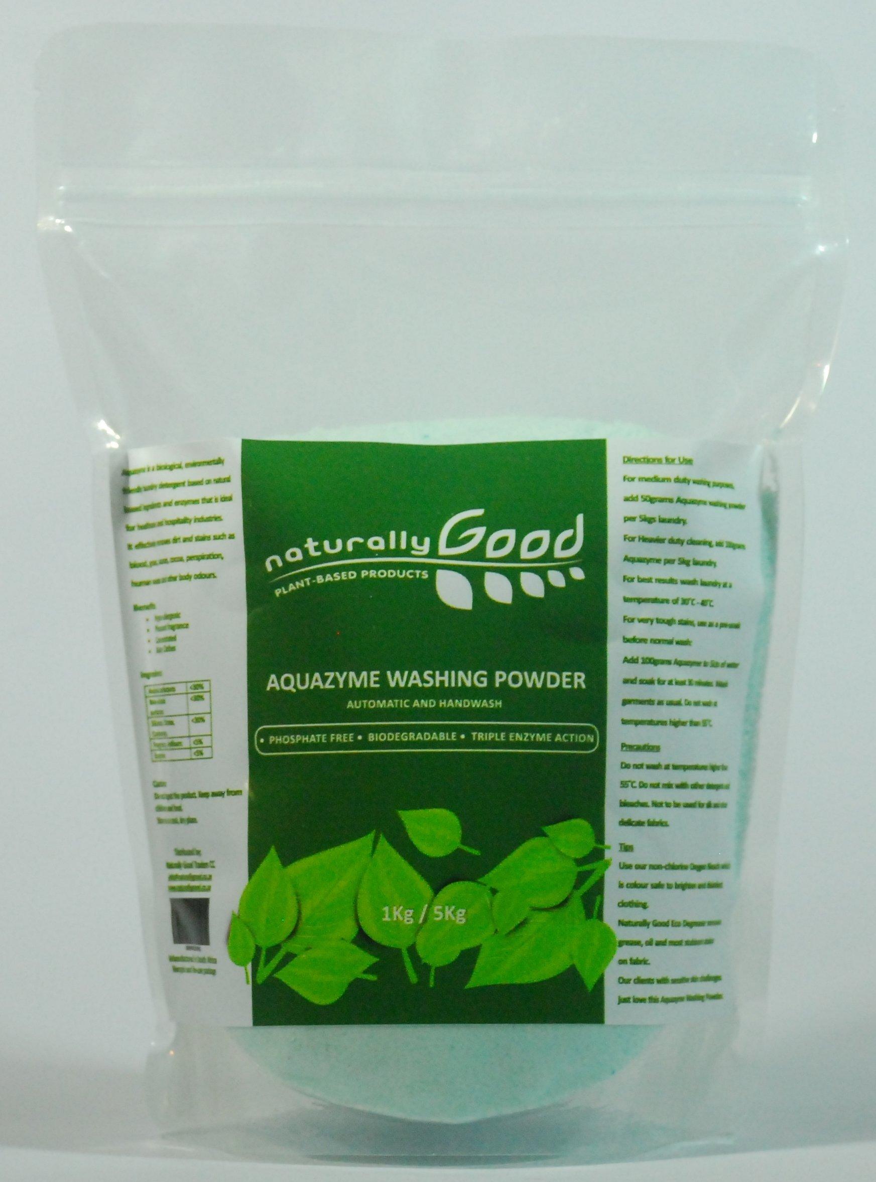 Natural Aquazyme Wash Powder 1kg NAWP1