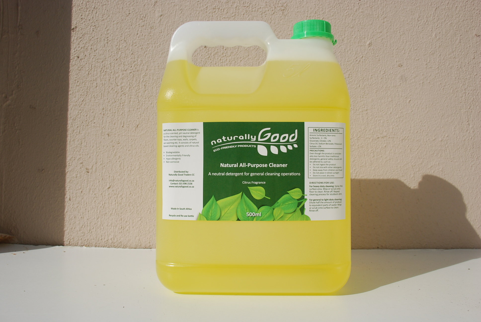Natural All Purpose Cleaner Concentrate 5L NAP5