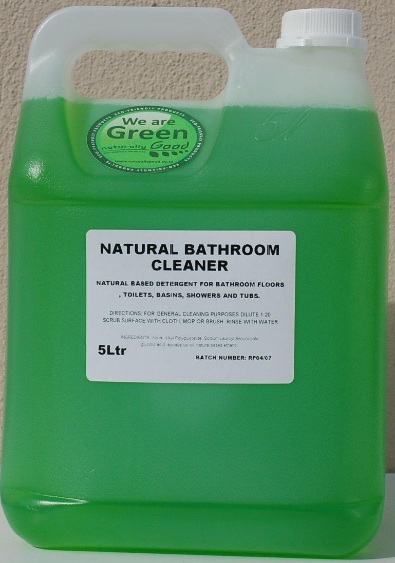 Natural Bathroom Cleaner Concentrate 5L INBC5