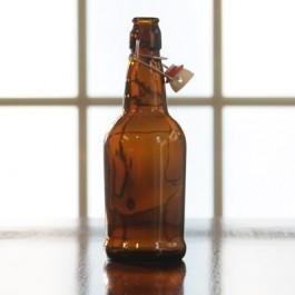 Amber EZ Cap Bottles 500ml 12/cs