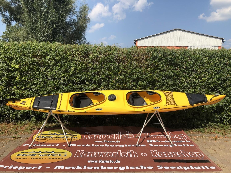 Prijon Poseidon gelb gebraucht Kajak Set 2019