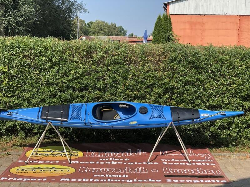 Prijon Touryak 500 blau gebraucht Kajak Set 2019