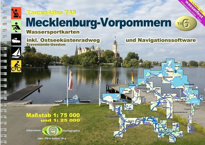 Jübermann Touren Atlas TA6 Mecklenburg-Vorpommern