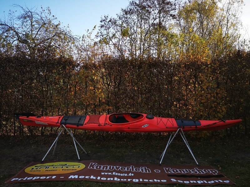 Prijon Seayak 520 HV rot (mischfarbig) gebraucht Kajak Set 2018