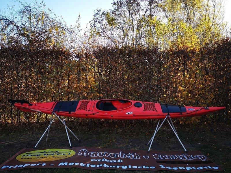 Prijon Touryak 500 rot gebraucht Kajak Set 2019