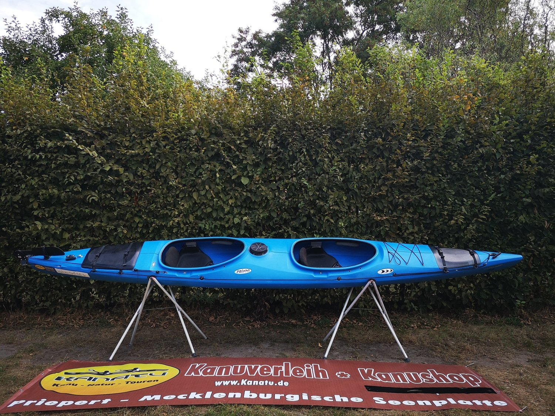Prijon Excursion EVO blau gebraucht Kajak Set