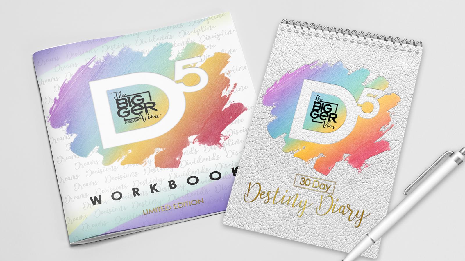 D5 Workbook & 30 Day Destiny Diary  00008