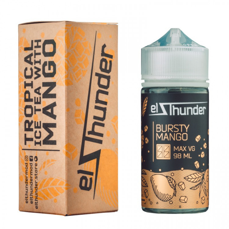 EL THUNDER: BURSTY MANGO 98ML