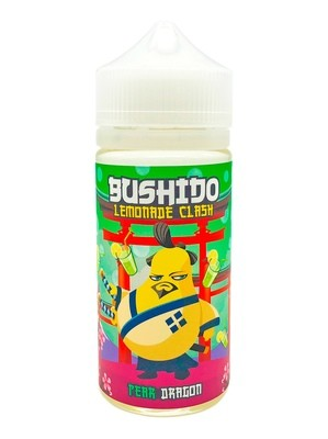 BUSHIDO LEMONADE:  PEAR DRAGON 100ML