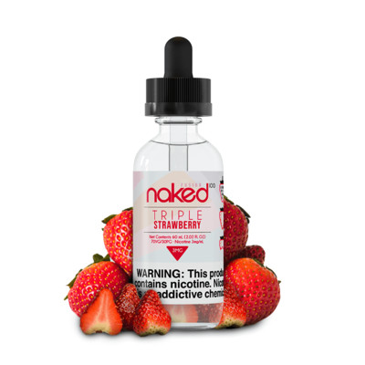 NAKED 100: TRIPLE STRAWBERRY 60 МЛ