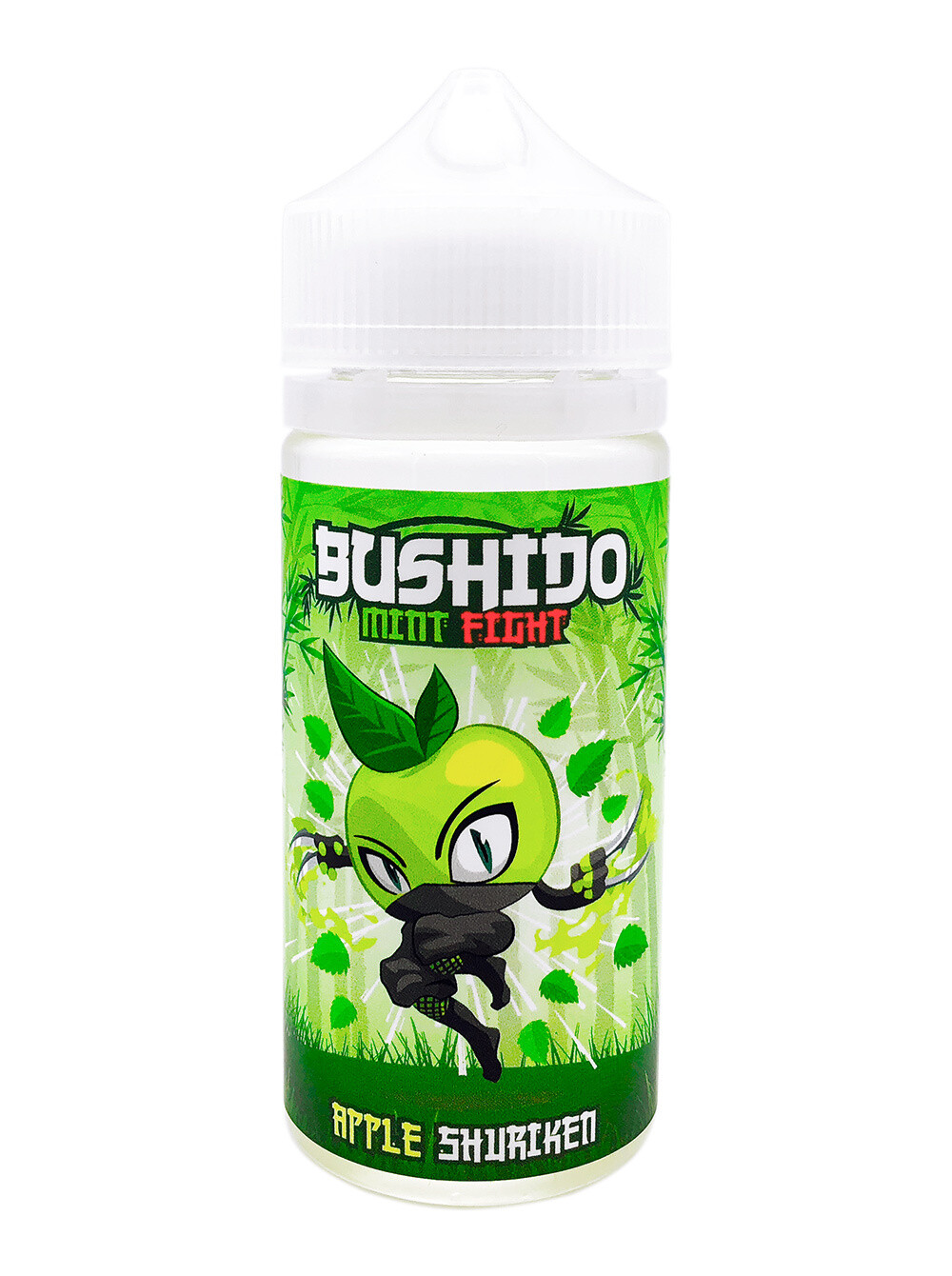 BUSHIDO MINT FIGHT: APPLE SURIKEN 100ML
