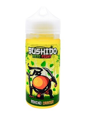 BUSHIDO MINT FIGHT: ASHIKO ORANGE 100ML