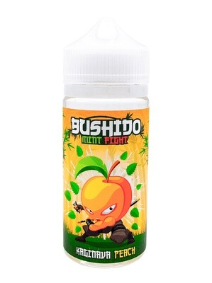 BUSHIDO MINT FIGHT: KAGINAVA PEACH 100ML