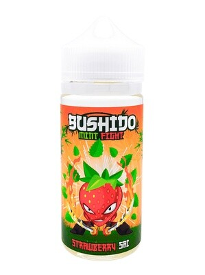 BUSHIDO MINT FIGHT: STRAWBERRY SAI 100ML