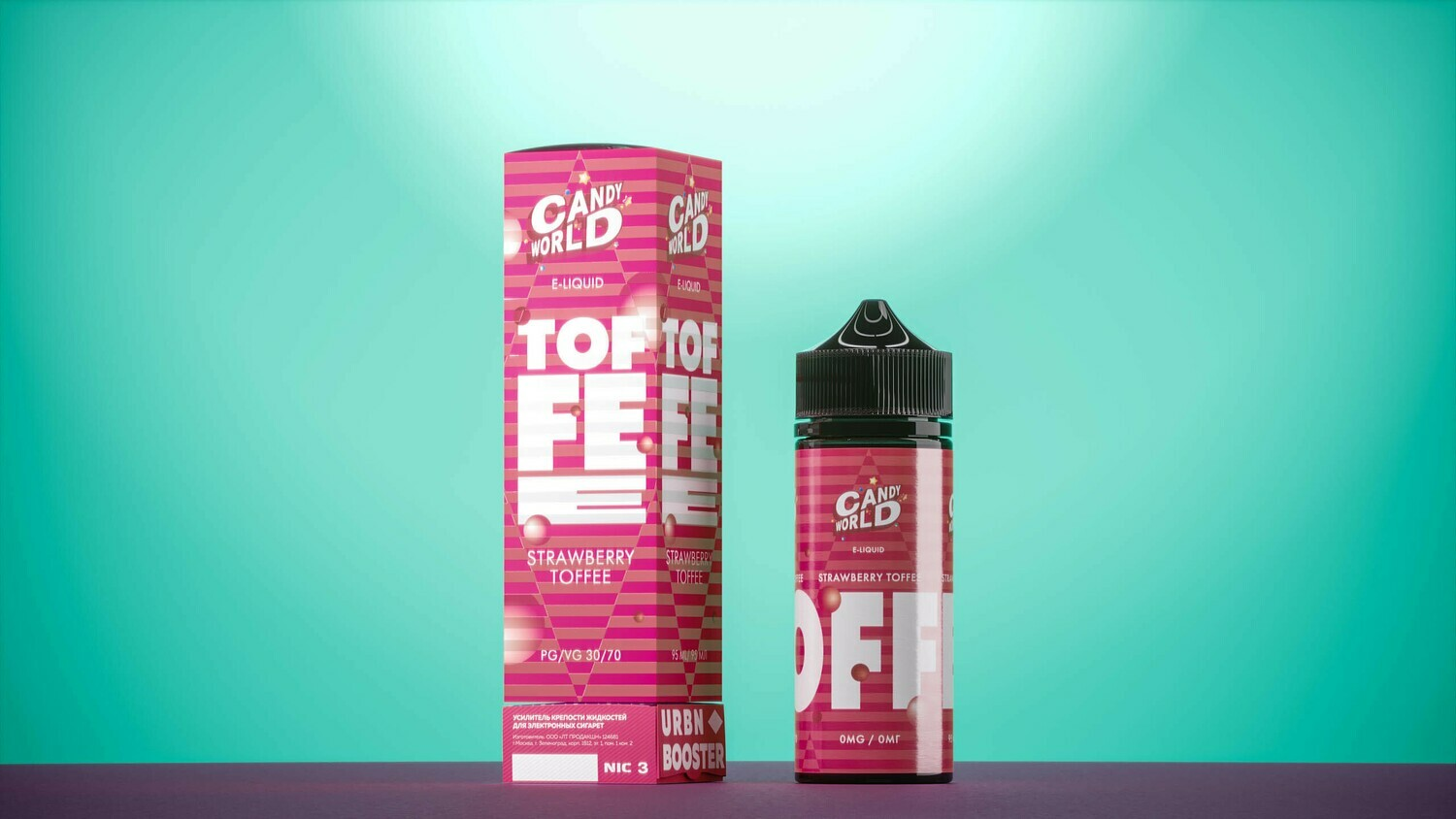 CANDY WORLD BY URBN: STRAWBERRY TOFFEE 95ML
