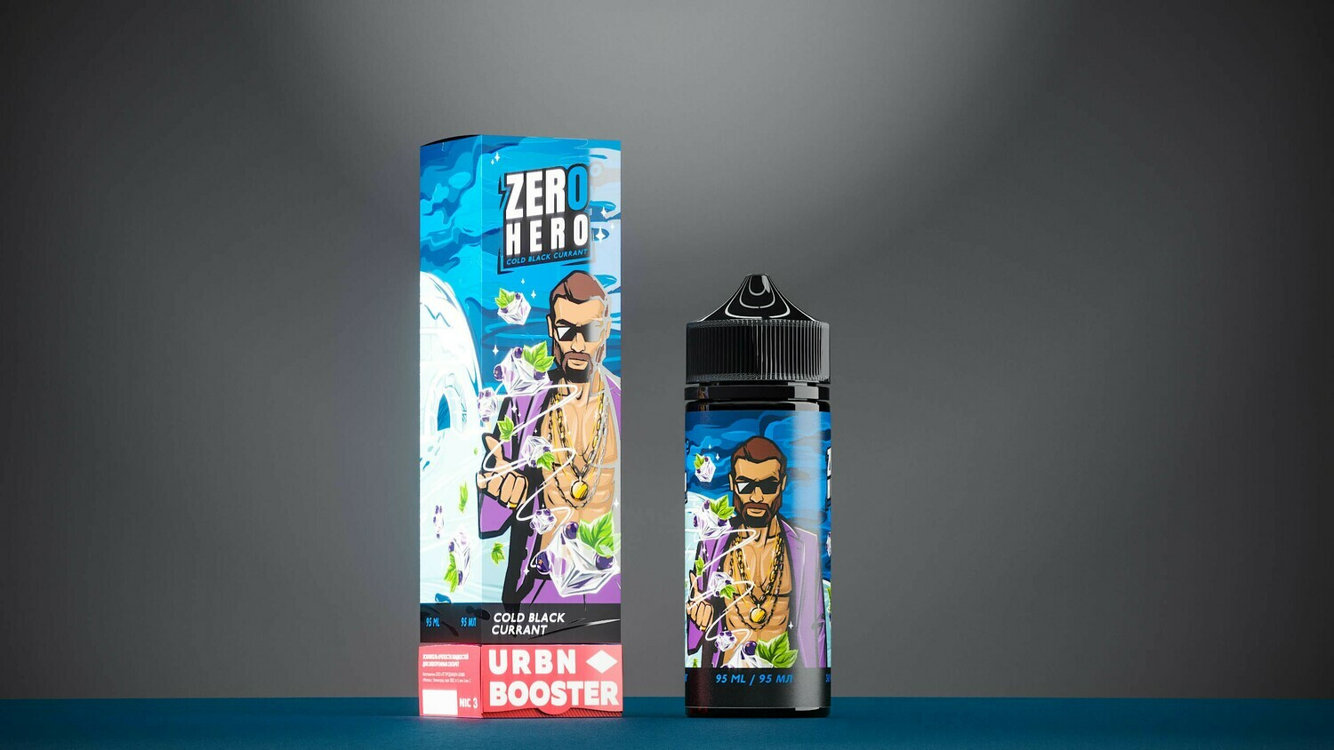 ZERO HERO BY URBN: COLD BLACK CURRANT 95ML