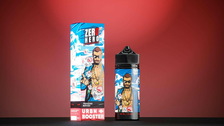 ZERO HERO BY URBN: FREEZING BERRIES 95ML