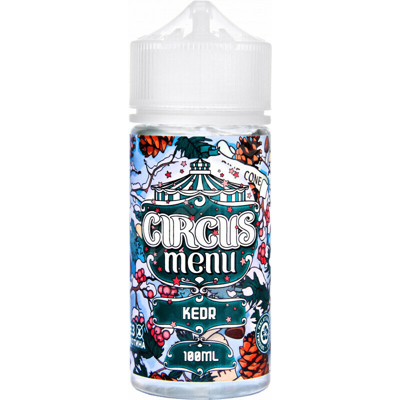 CIRCUS MENU BY COTTON CANDY - KEDR 100ML