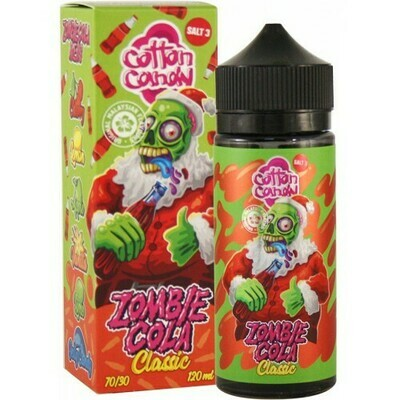 ZOMBIE COLA BY COTTON CANDY - CLASSIC 120ML