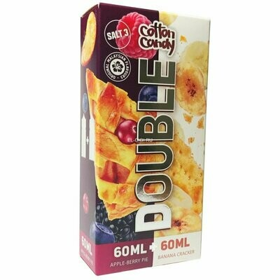 DOUBLE: APPLE BERRY PIE + BANANA CRACKER 2x60ML