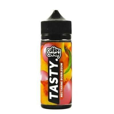 TASTY BY COTTON CANDY -  NECTARINE BUBBLE GUM 120 ML
