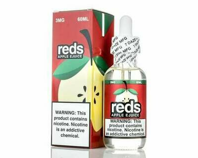 7 DAZE REDS: APPLE  60ML