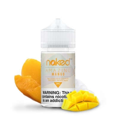 NAKED 100: AMAZING MANGO 60 МЛ 0MG