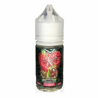 EASY SQUEEZE SALT BY COTTON CANDY: KIWI RASPBERRY STRAWBERRIES 30 ML 50MG