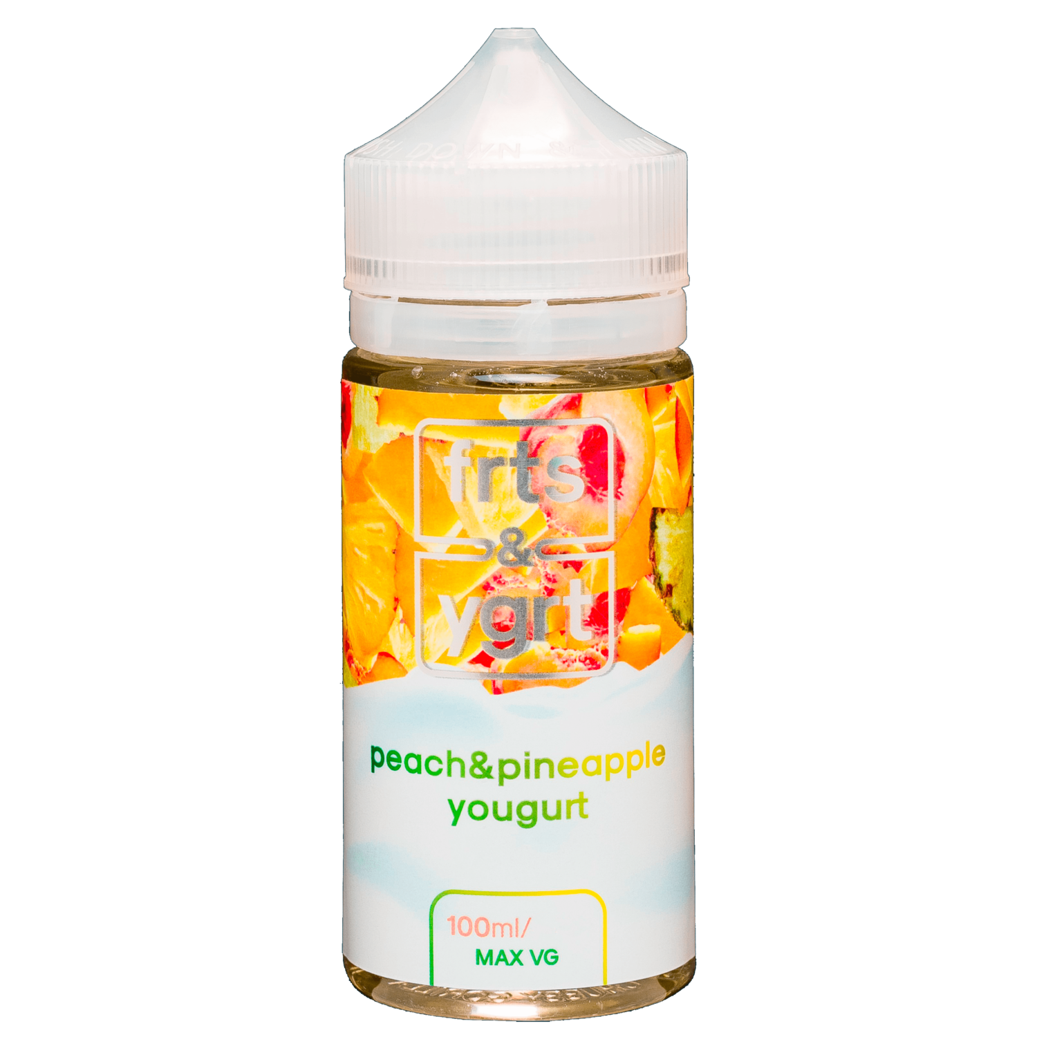 ELECTROJAM: PEACH PINEAPPLE YOGURT 100 ML