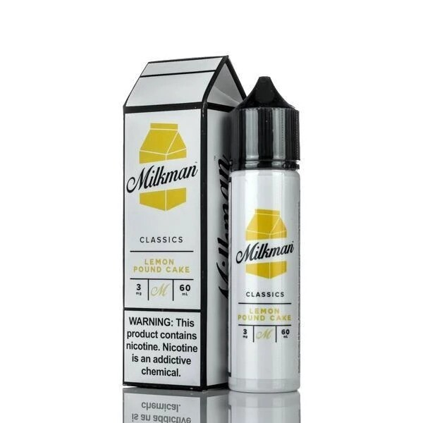 THE MILKMAN : LEMON POUND CAKE  60ML