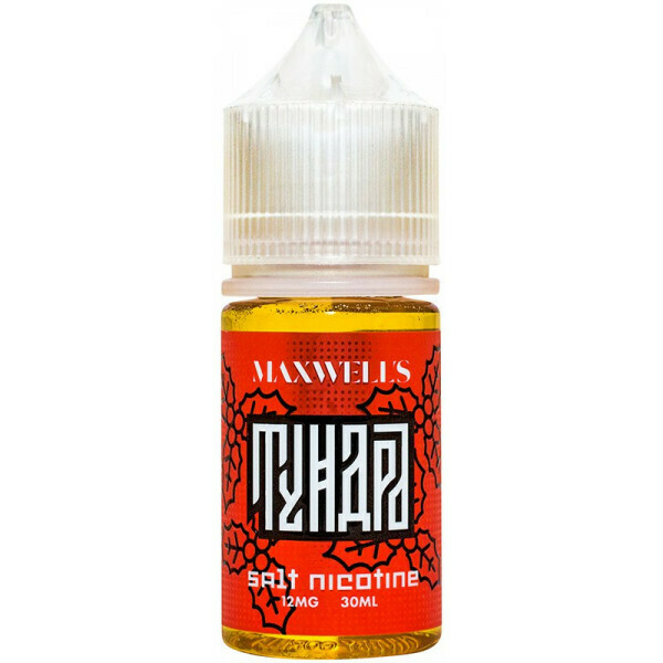 MAXWELLS: TUNDRA SALT 30ML