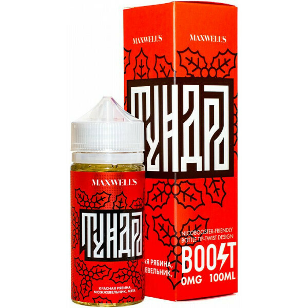 MAXWELLS: TUNDRA 100ML 0MG