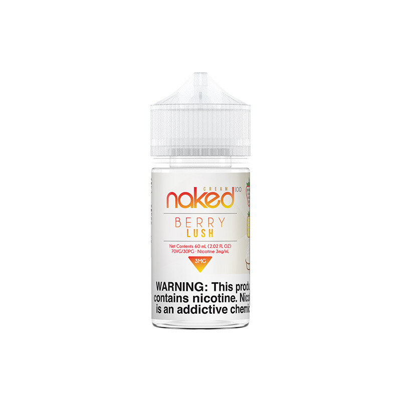 NAKED 100: BERRY LUSH 60ML 0MG
