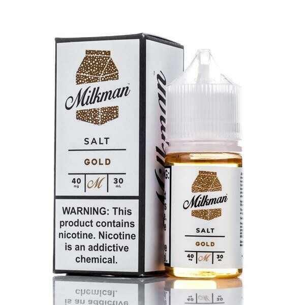 THE MILKMAN SALT: GOLD 30ML 40MG