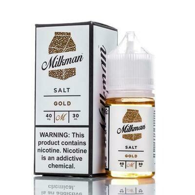 THE MILKMAN SALT: GOLD 30ML