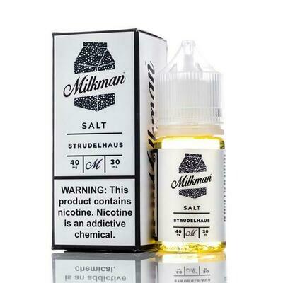 THE MILKMAN SALT: STRUDELHAUS 30ML