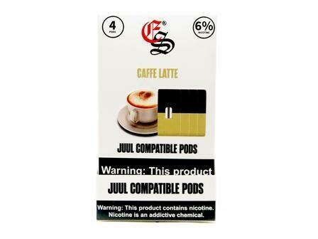 EONSMOKE PODS FOR JUUL: CAFFE LATTE