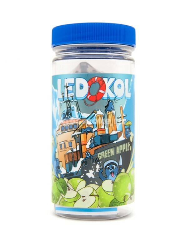 LEDOKOL BY COTTON CANDY: GREEN APPLE 100ML 0MG