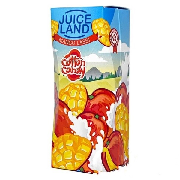 JUICELAND BY COTTON CANDY: MANGO LASSI 100ML 0MG
