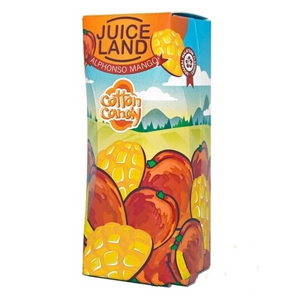 JUICELAND BY COTTON CANDY: ALPHONOSO MANGO 100ML 0MG