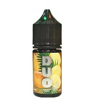 DUO SALT BY COTTON CANDY: SOUR MELON BANANA 30ML 25MG