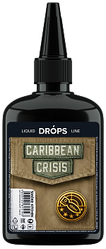 SMOKE KITCHEN DROPS: CARIBBEAN CRISIS 100ML 0MG
