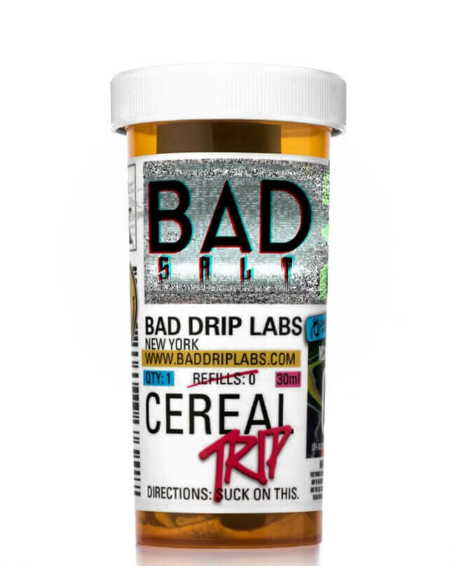 BAD SALTS: CEREAL TRIP 30ML 25MG
