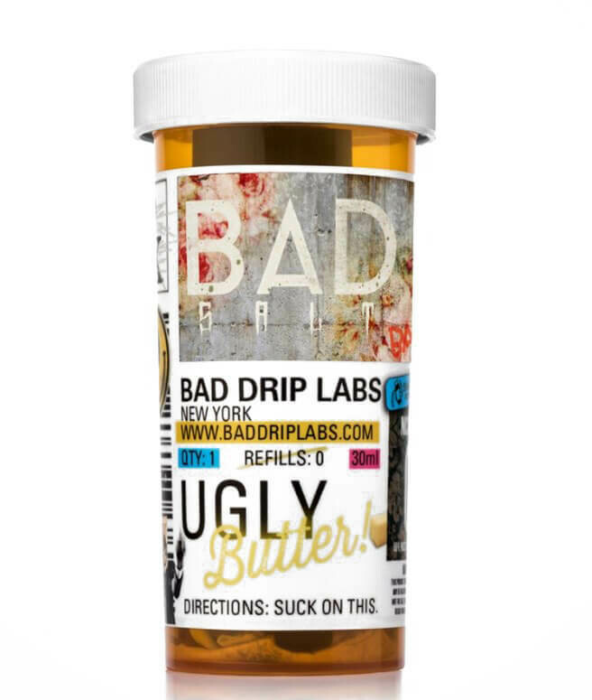 BAD SALTS: UGLY BUTTER  30ML 45MG