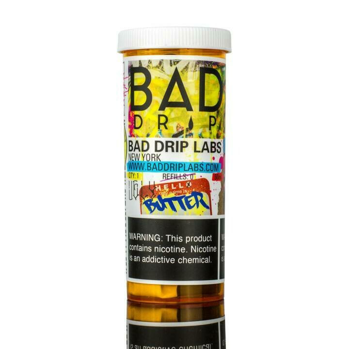 BAD DRIP: UGLY BUTTER 60ML 3MG